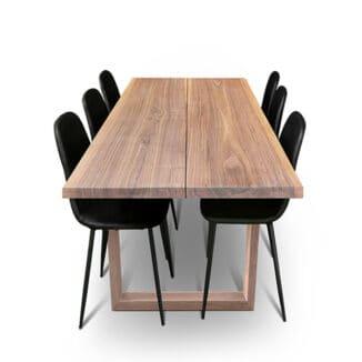 Plankbord – amerikansk valnöt – två plankor - träben