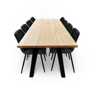 Plankbord ek – tre plankor – olja natur (1)