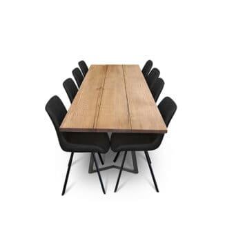 Plankbord ek – tre plankor – olja valnot (1)