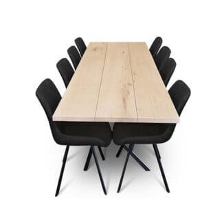 Plankbord ek – tre plankor – olja vit (1)