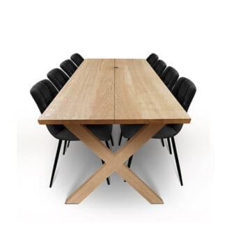 Plankbord ek – två plankor – natur olja - träben