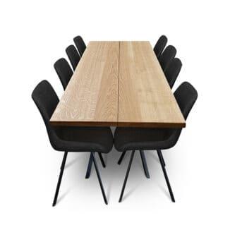 Plankbord ek – två plankor – olja natur