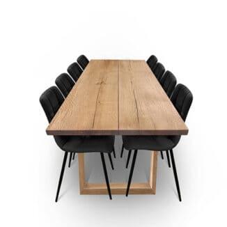 Plankbord ek – två plankor – valnöt olja - träben