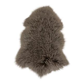 Mongoliskt lammskinn – brunt - 1