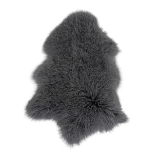 Mongoliskt lammskinn – grått