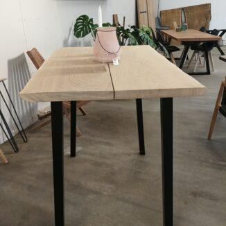 Højbord eg med bordben højbord 4 stk.Højbord eg med bordben højbord 4 stk.