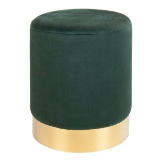 Fotpall – Gamby – grön - Møbel