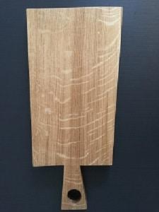 Skärbräda – unik – 22 x 36 cm