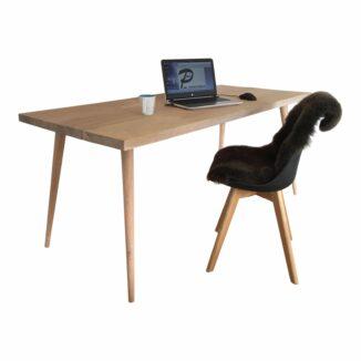 Skrivbord – plankbord – ek - Bord