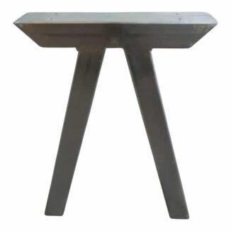 Snedställda ben till bänk – galvaniserade