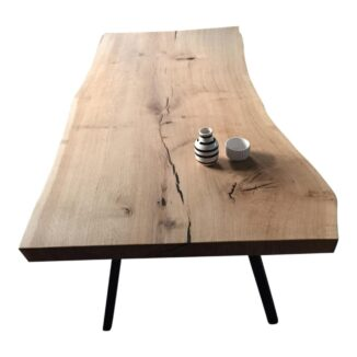 Soffbord – ek – en planka – olja natur