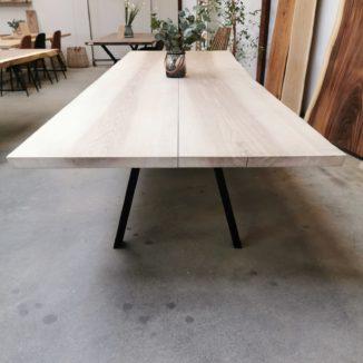 Plankebord i ask 113x350 cm