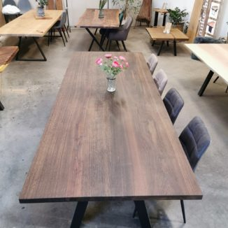 Plankbord – rökt ek – 110 x 280 cm - 1