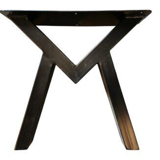 Bordsben til soffbord - M bas - Svart