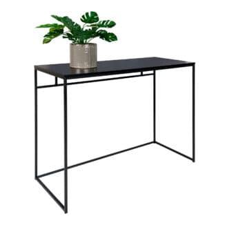 Skrivbord - Vita - Svart - Stål