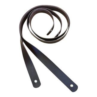 Läderstroppar – brun – 1 uppsättning