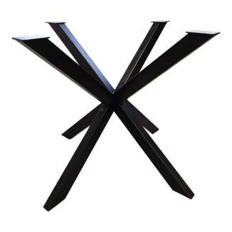 Bordsunderrede – stjärnformat underrede – svart – 90 x 90 cm(1)