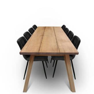 Plankbord ek – tre plankor – valnöt olja - träben
