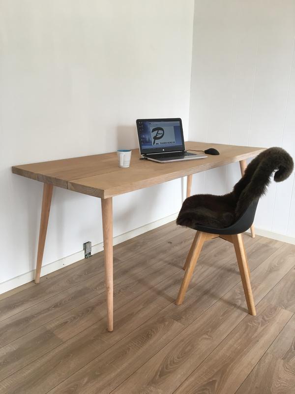 skrivebord eg produkt skaa egetræsben